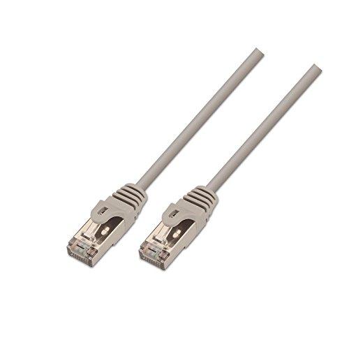 Cable de red FTP CAT5E 0.50 M Gris