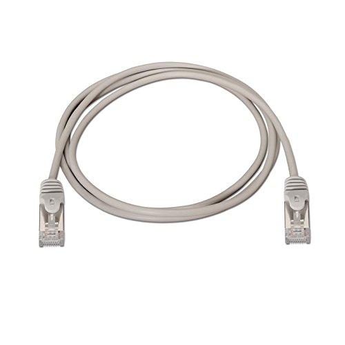 Cable de red FTP CAT5E 1 M Gris