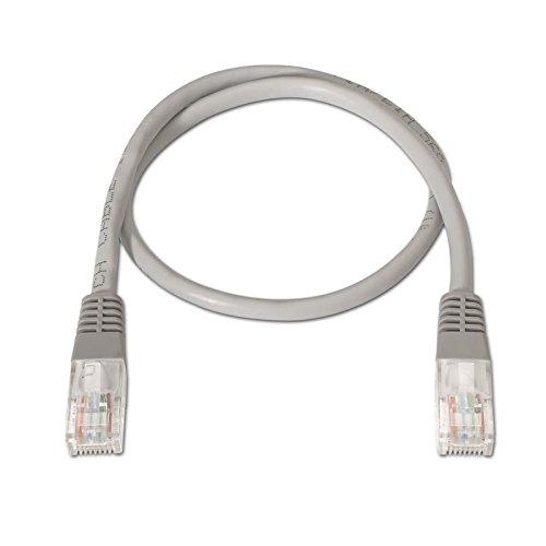 Cable de red UTP LSZH CAT6 5 M Gris