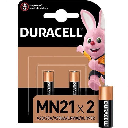 Pila duracell MN21 LR23 12 v pack 2 pilas