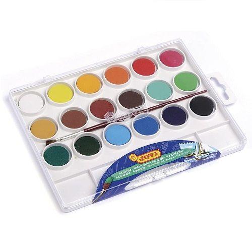 Acuarela Jovi estuche 18 colores  Multicolor