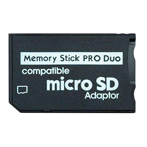 Adaptador de tarjeta micro SD a Memory Stick  Negro