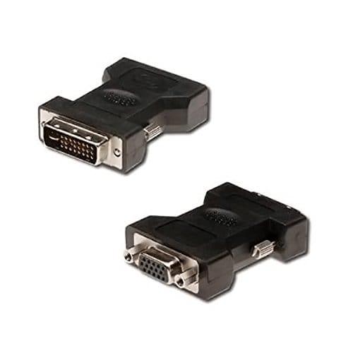 Adaptador DVI 24+5/M - VGA/H  Negro