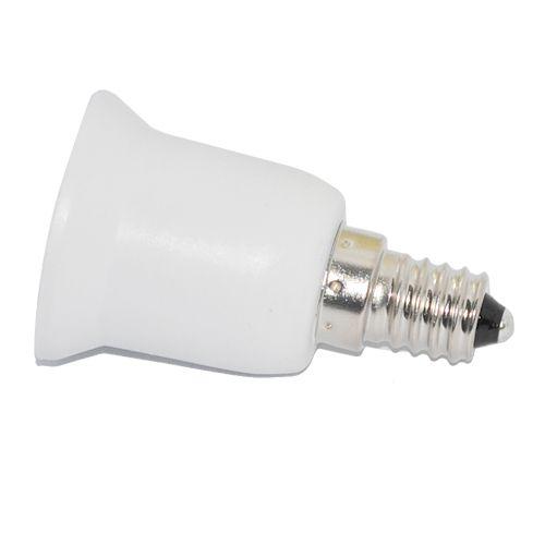 Adaptador E27 a E14  Blanco