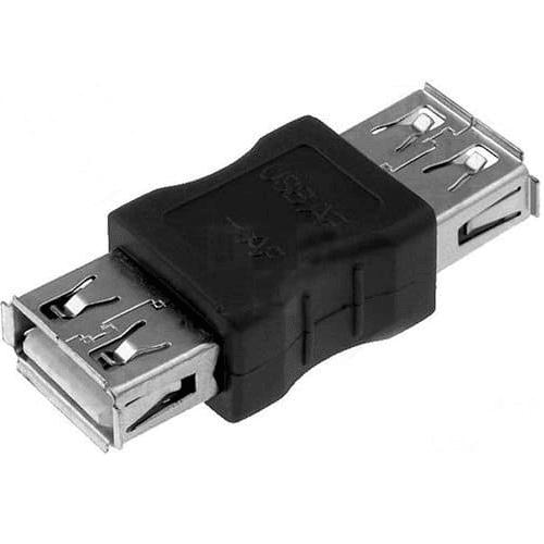 Adaptador empalme usb 2.0 A/H-A/H  Negro