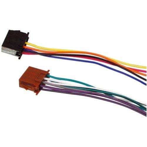Cable de audio ISO Standard 0.15 M Negro