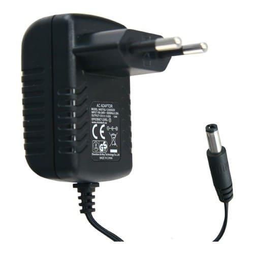 Alimentador 12V  Negro 1.5A