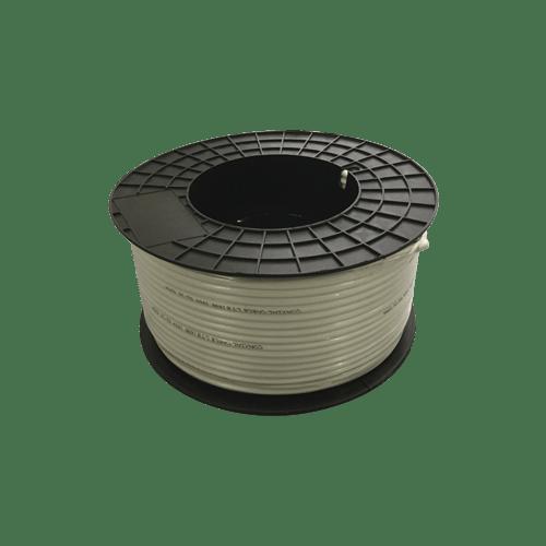 Bobina Coaxial LTE 168 6,8mm CU-CU 100 M Blanco