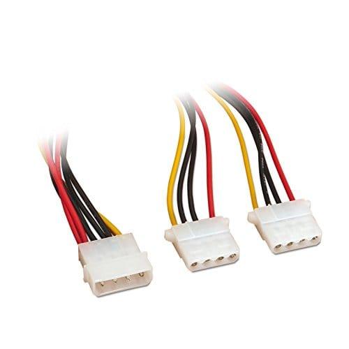 Cable alimentacion molex 5.25 0.15 M Negro