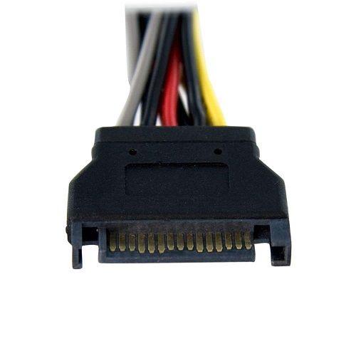 Cable alimentacion multiplicador SATA macho a 2x SATA hembra 0.20 M Mu