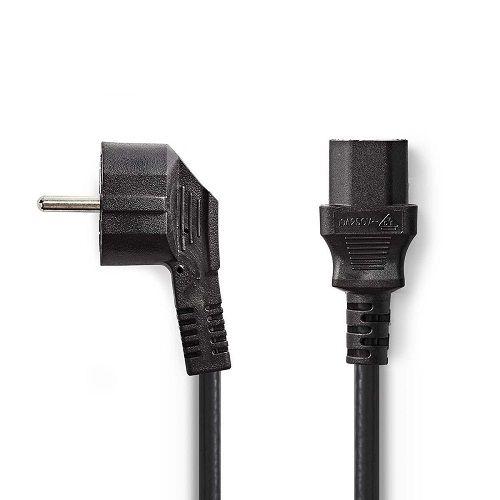 Cable de alimentacion CPU CEE7/M-C13/H 1.5 M Negro