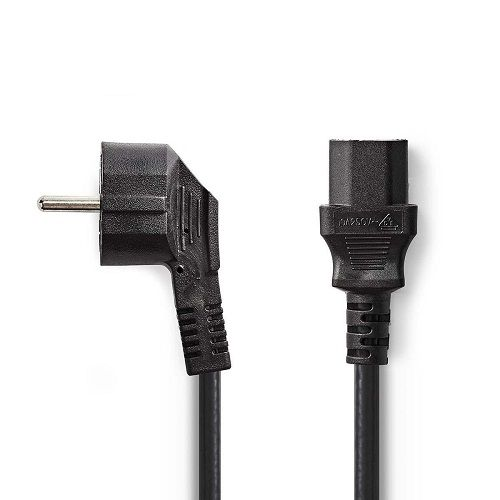Cable de alimentacion CPU CEE7/M-C13/H 5 M Negro