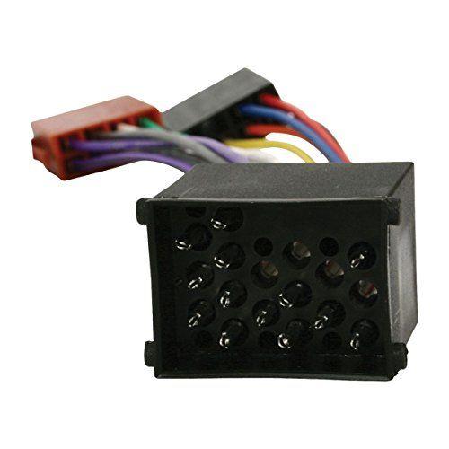 Cable de audio ISO compatible con BMW 0.15 M Negro