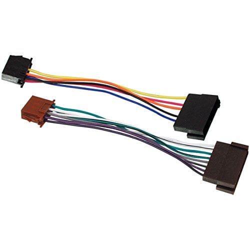 Cable de audio ISO compatible con Ford 0.15 M 0.15 M Negro