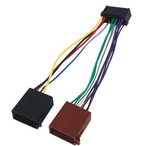 Cable de Audio ISO Compatible con Pioneer 0.15 Metros Cablepelado/®