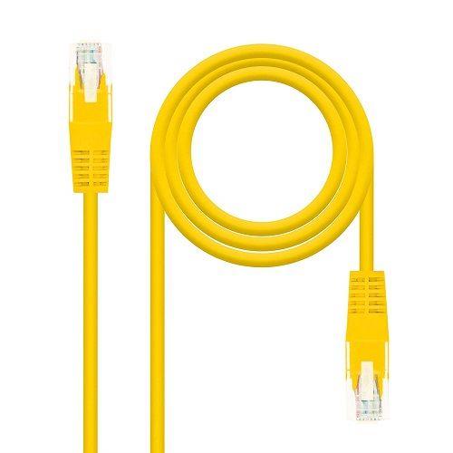 Cable de red UTP CAT5E 2 M Amarillo