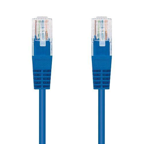 Cable de red UTP CAT5E 1 M Azul