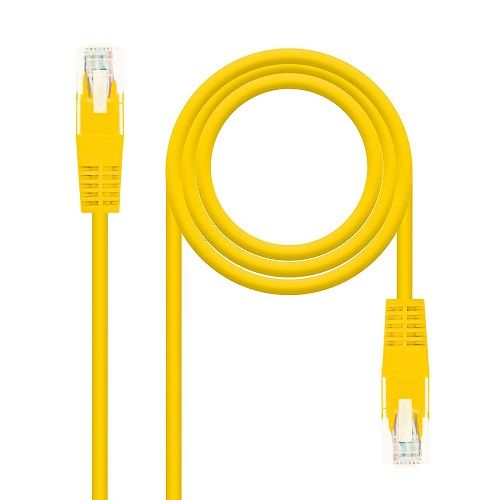 Cable de red UTP CAT6 0.50 M Amarillo