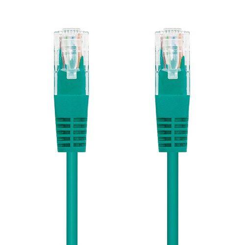 Cable de red UTP CAT6 0.50 M Verde