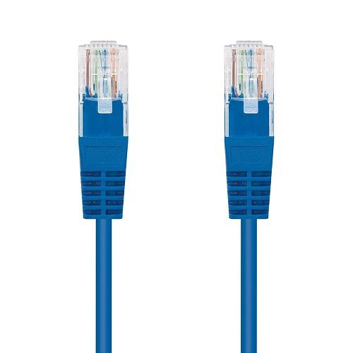 Cable de red UTP CAT6 1 M Azul