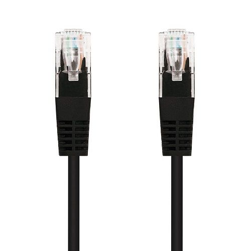 Cable de red UTP CAT6 2 M Negro