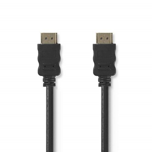 Cable Hdmi Ethernet V1.4 alta velocidad A/M-A/M 3 M Negro