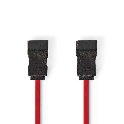 Cable SATA 0.50 M Rojo
