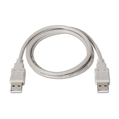 Cable USB 2.0 A/M-A/M 2 M Beige