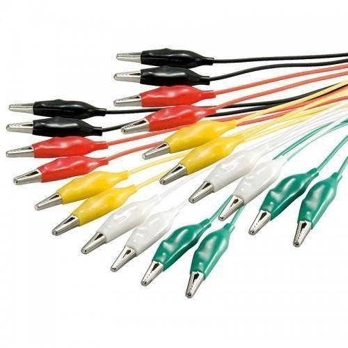Cables de medicion 0.50 M Multicolor
