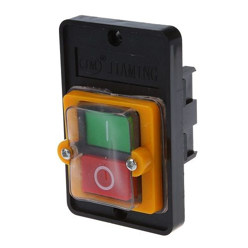 CABLEPELADO Interruptor 2 pin con palanca on-off Gris 3 A