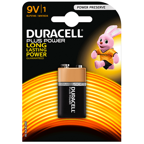 Pila duracell plus LR61 9V