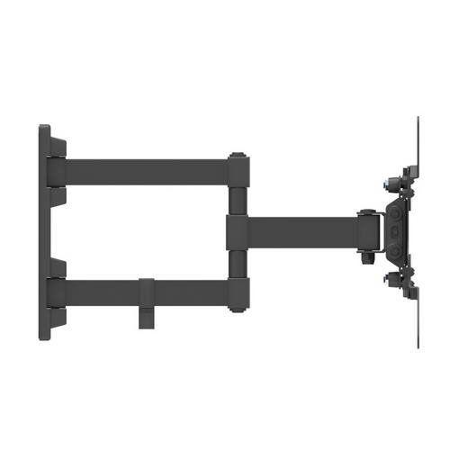 Soporte TV inclinable y giratorio de 13 a 42 pulgadas  Negro
