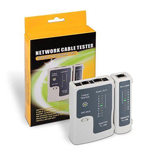 Cablepelado/® Tester para cables RJ11-RJ12-RJ45